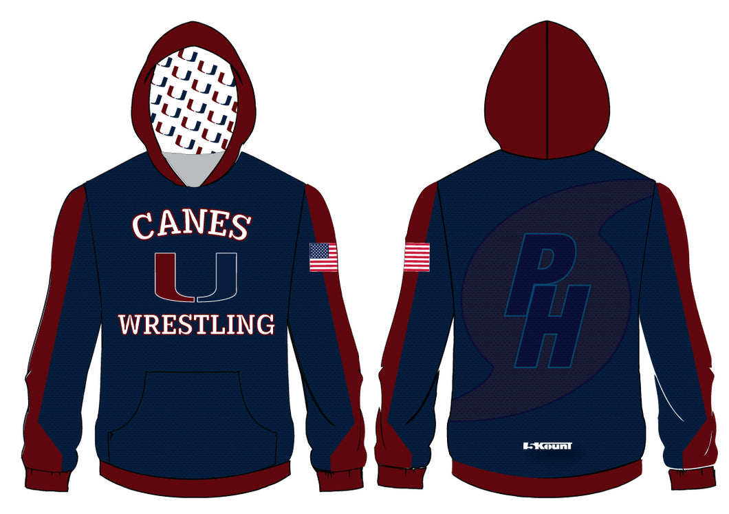Palm Harbor Wrestling Sublimated Hoodie - 5KounT