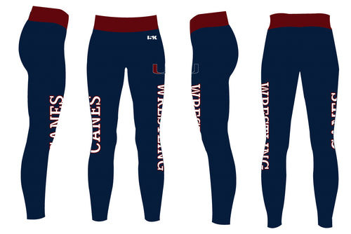 Palm Harbor Wrestling Sublimated Ladies Legging - 5KounT