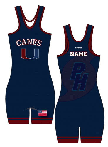 Palm Harbor Wrestling Ladies Sublimated Singlet - 5KounT