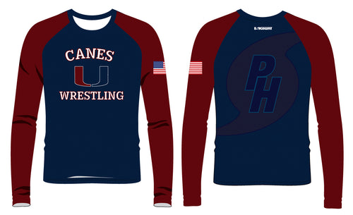 Palm Harbor Wrestling Sublimated Long Sleeve