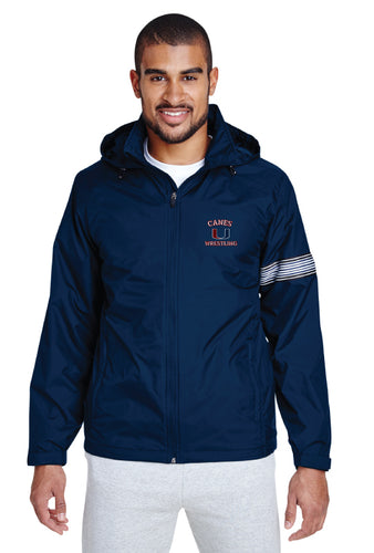Palm Harbor Wrestling All Season Hooded Jacket - 5KounT