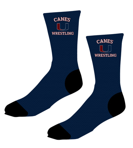 Palm Harbor Wrestling Sublimated Socks - 5KounT