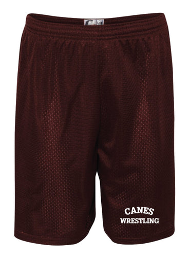 Palm Harbor Wrestling Tech Shorts - Maroon - 5KounT