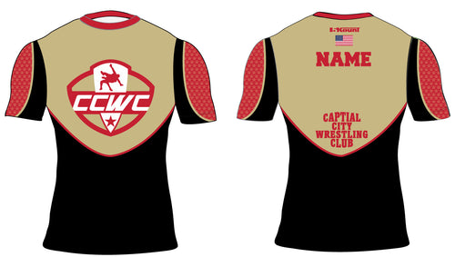 CCWC Sublimated Compression Shirt - 5KounT2018