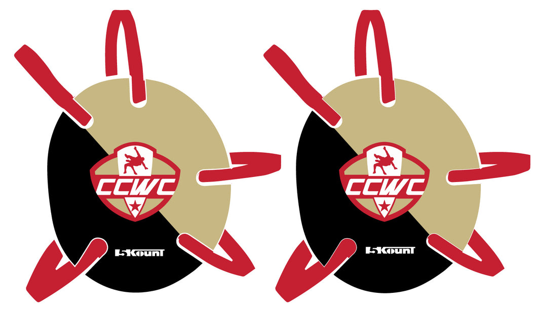 CCWC Wrestling Headgear Decal