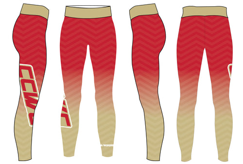 CCWC Sublimated Ladies Legging