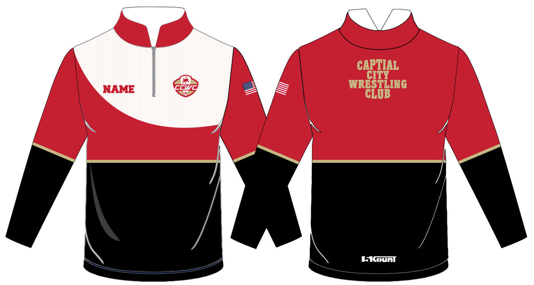 CCWC Sublimated Quarter Zip - 5KounT