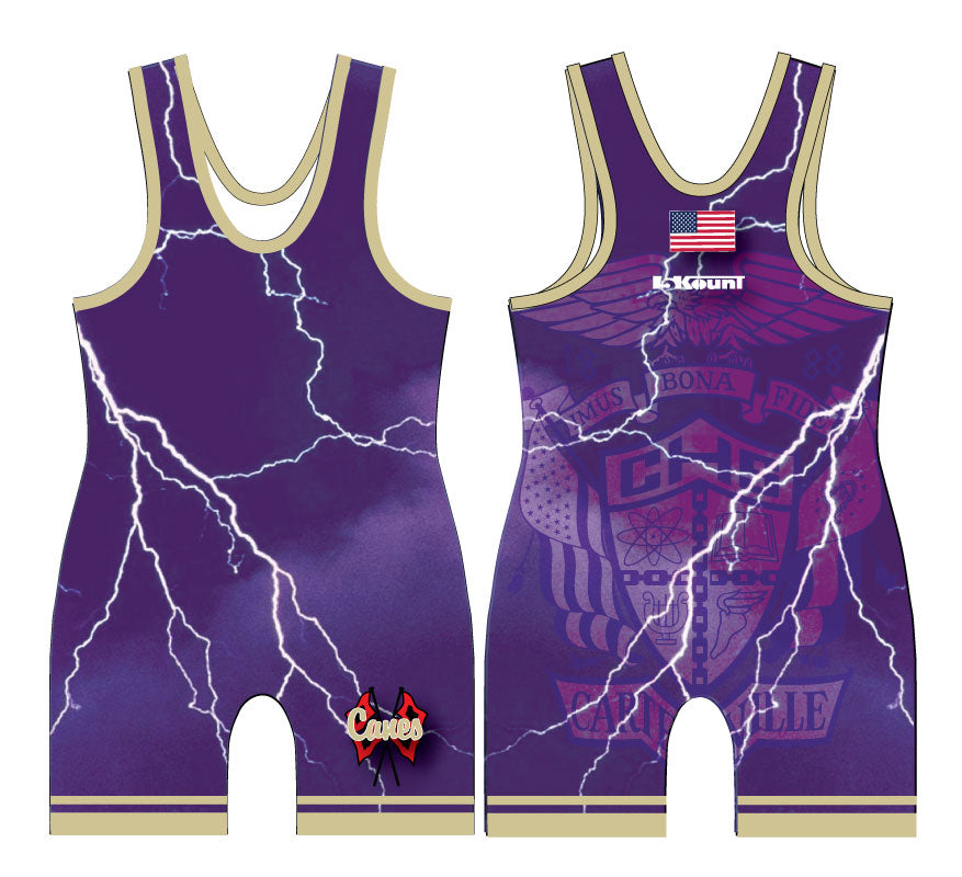 Cartersville Sublimated Singlet - 5KounT