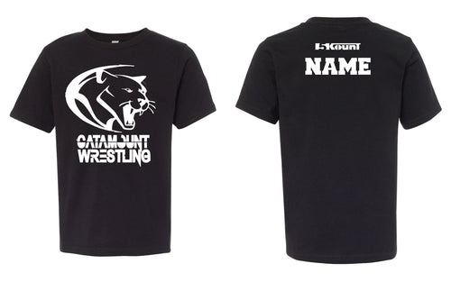 Catamount Wrestling Cotton Crew Tee