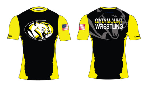Catamount Wrestling Sublimated Compression Shirt
