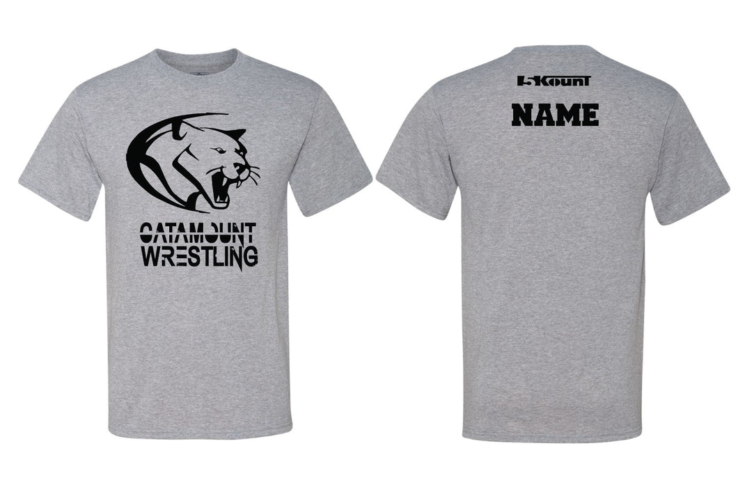 Catamount Wrestling Sublimated DryFit Performance Tee - 5KounT