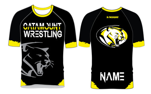 Catamount Wrestling Sublimated Fight Shirt