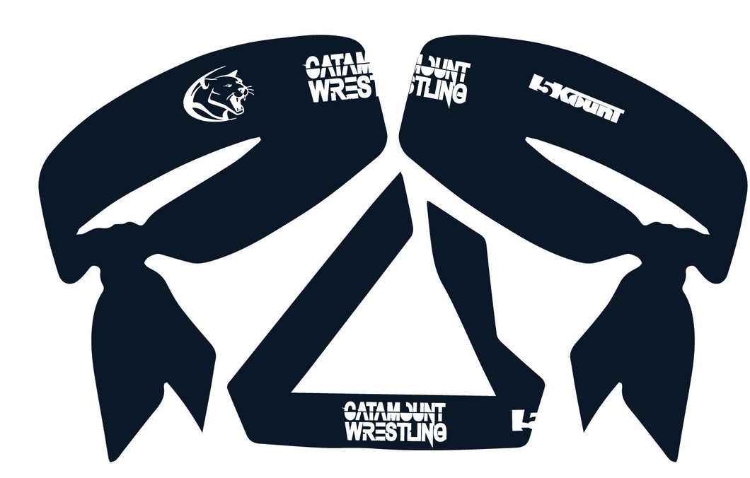 Catamount Wrestling Sublimated Headband