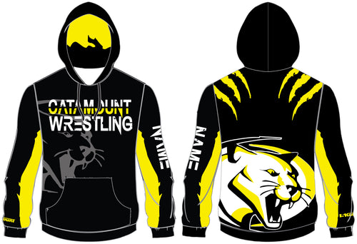 Catamount Wrestling Sublimated Hoodie