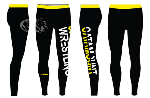 Catamount Wrestling Sublimated Mens Legging