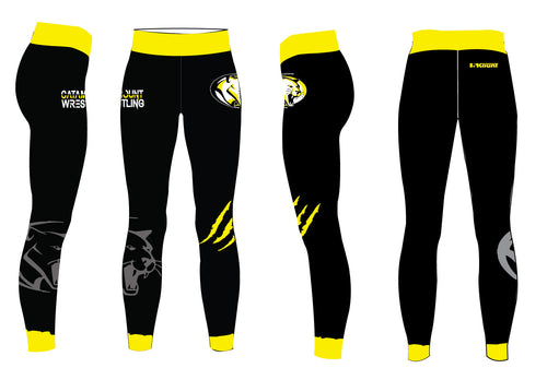 Catamount Wrestling Sublimated Ladies Legging
