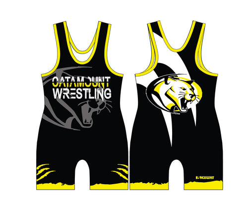 Catamount Wrestling Sublimated Singlet