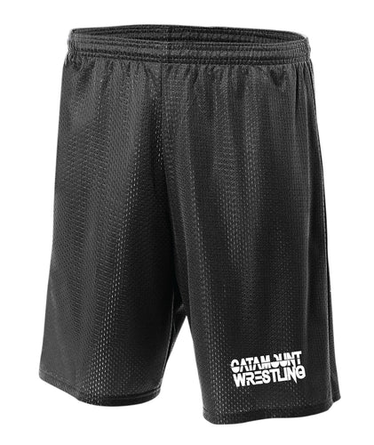 Catamount Wrestling Tech Shorts