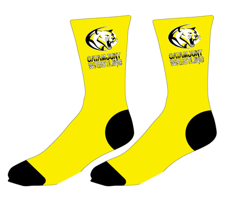Catamount Wrestling Sublimated Socks