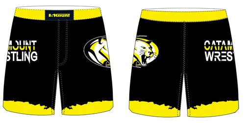 Catamount Wrestling Sublimated Fight Shorts