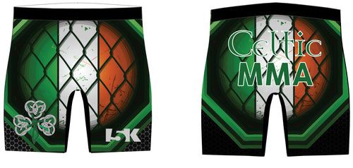 Celtic MMA Sublimated Compression Shorts