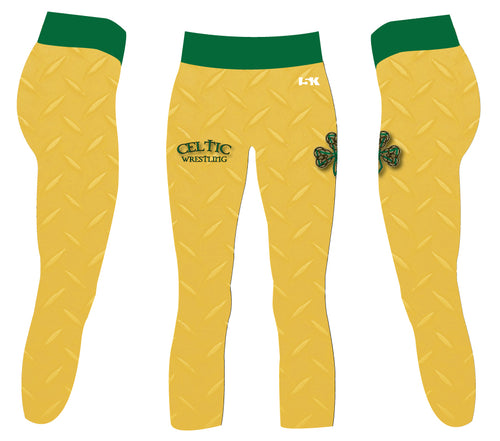 Celtic Wrestling Sublimated Capri Ladies Legging