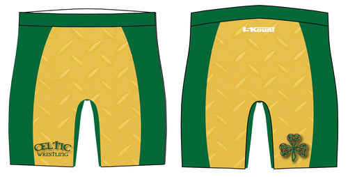 Celtic Wrestling Sublimated Compression Shorts
