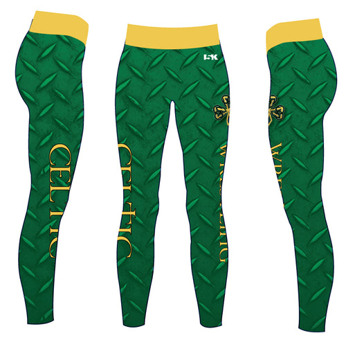 Celtic Wrestling Sublimated Ladies Legging