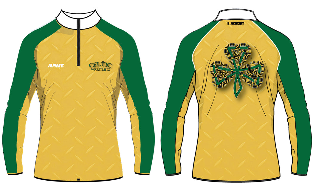 Celtic Wrestling Sublimated Quarter Zip