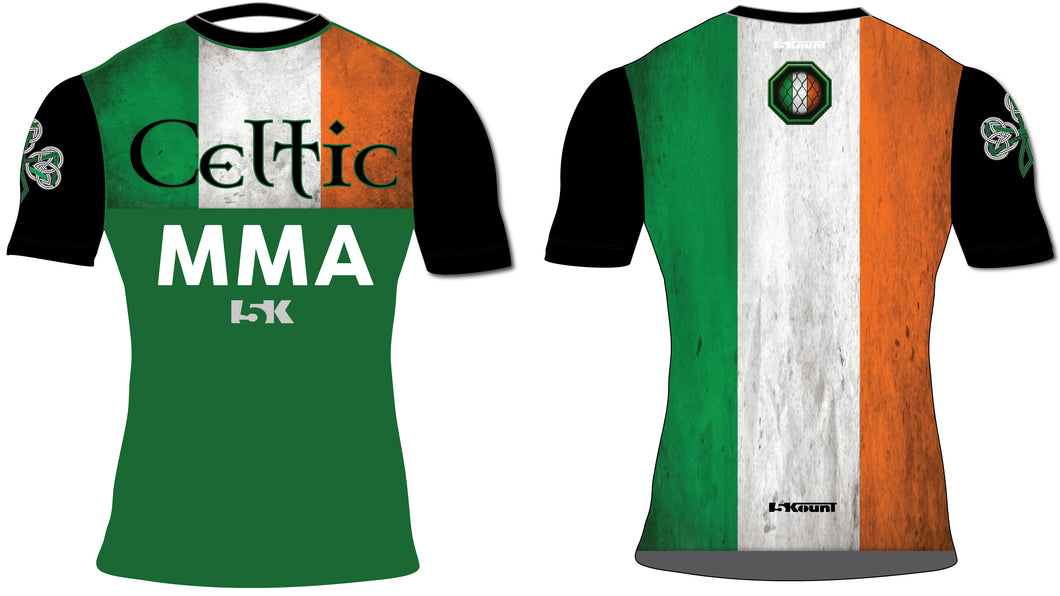 Celtic MMA Sublimated Compression Shirt