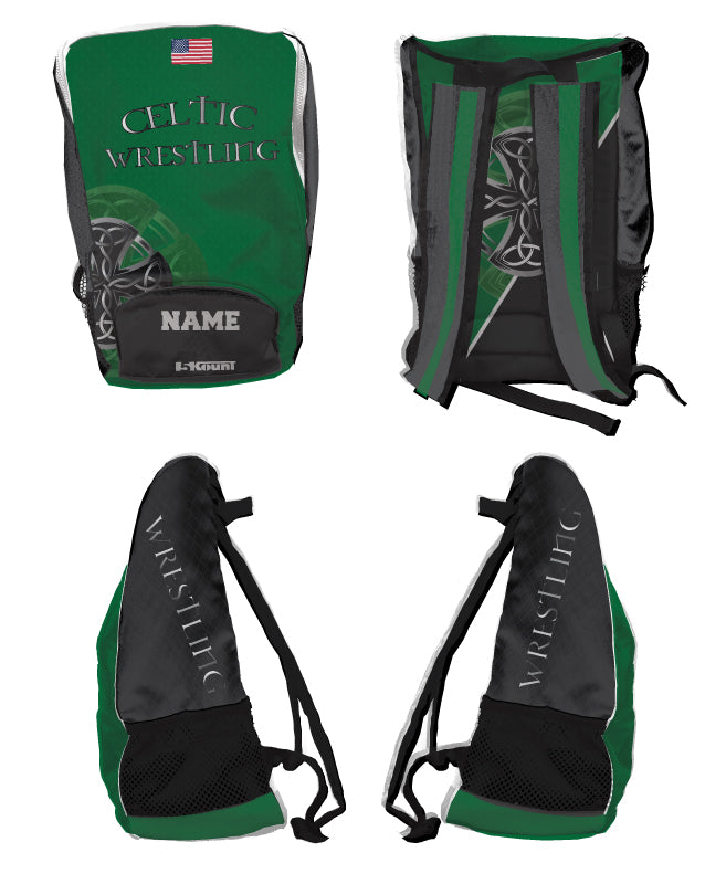 Celtic Wrestling Sublimated Backpack
