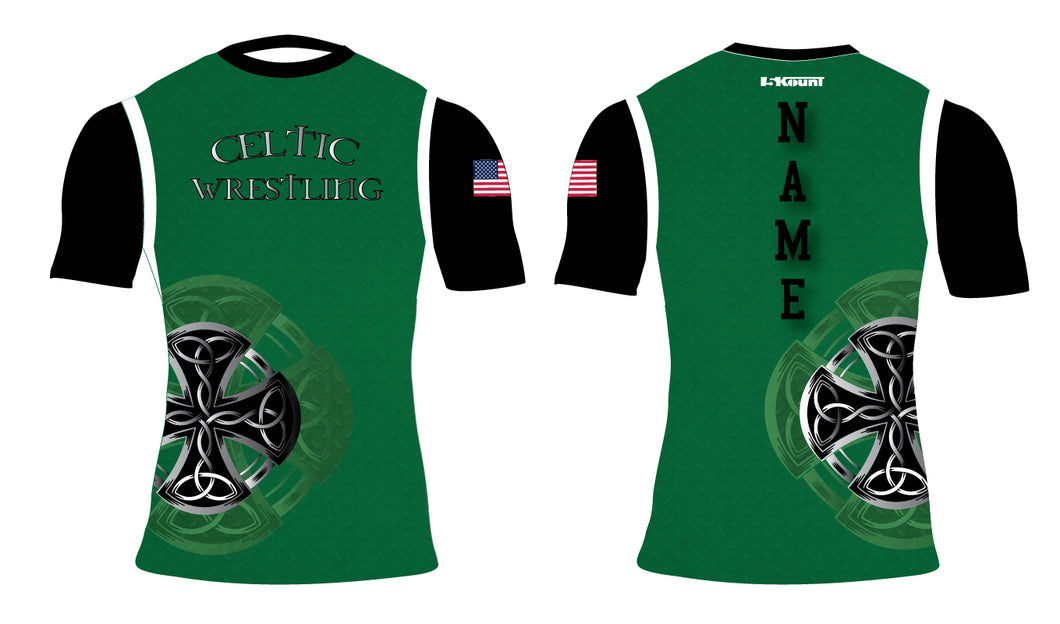 Celtic Wrestling Sublimated Compression Shirt