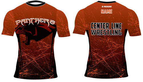 Centerline Panthers Wrestling Sublimated Compression Shirt