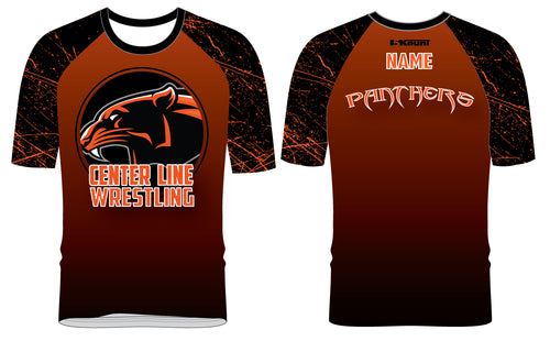 Centerline Panthers Wrestling Sublimated Fight Shirt