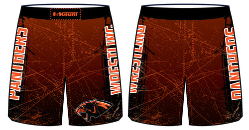 Centerline Panthers Wrestling Sublimated Fight Shorts