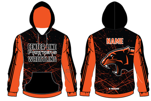 Centerline Panthers Wrestling Sublimated Hoodie