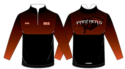 Centerline Panthers Wrestling Sublimated Quarter Zip