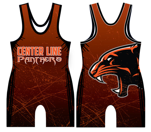 Centerline Panthers Wrestling Sublimated Singlet