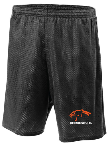 Centerline Panthers Wrestling Tech Shorts