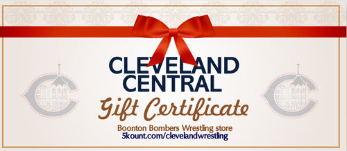 Cleveland Central Catholic Wrestling Gift Certificate