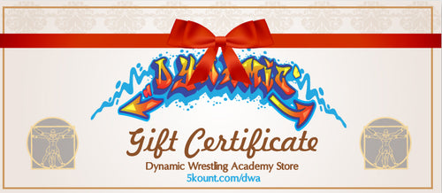 Dynamic Wrestling Academy Gift Certificate