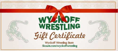 Wyckoff Wrestling Gift Certificate