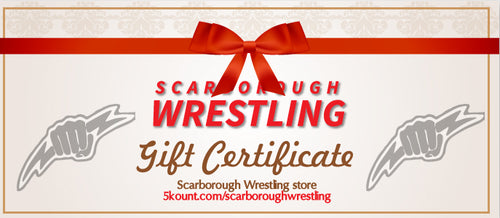 Scarborough Wrestling Gift Certificate