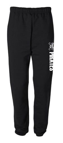Challenger Football Cotton Sweatpants - Black - 5KounT