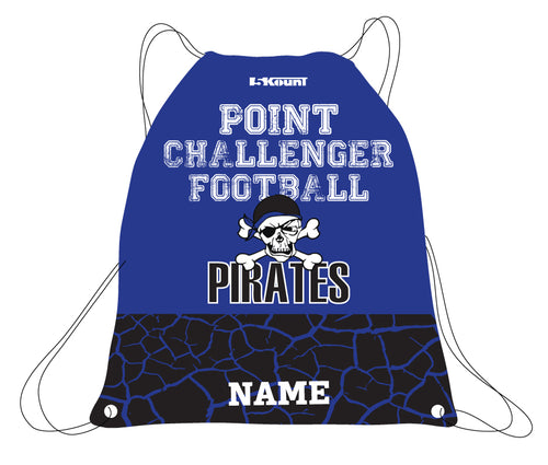 Challenger Football Sublimated Drawstring Bag - 5KounT