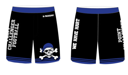 Challenger Football Sublimated Practice Shorts - 5KounT