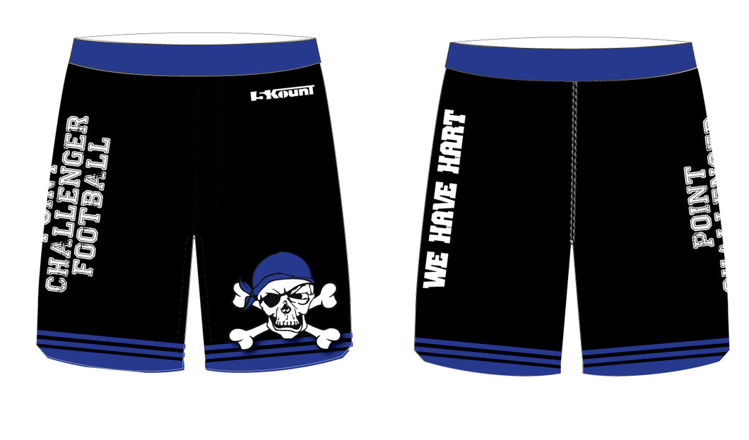 Challenger Football Sublimated Practice Shorts - 5KounT2018
