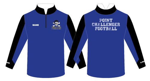 Challenger Football Sublimated Quarter Zip - 5KounT