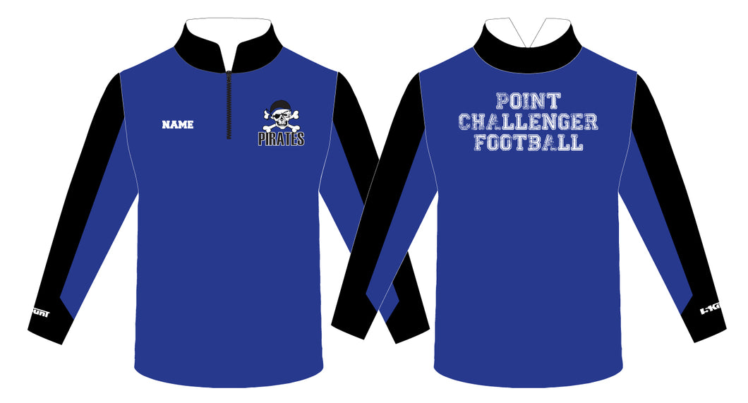 Challenger Football Sublimated Quarter Zip - 5KounT2018