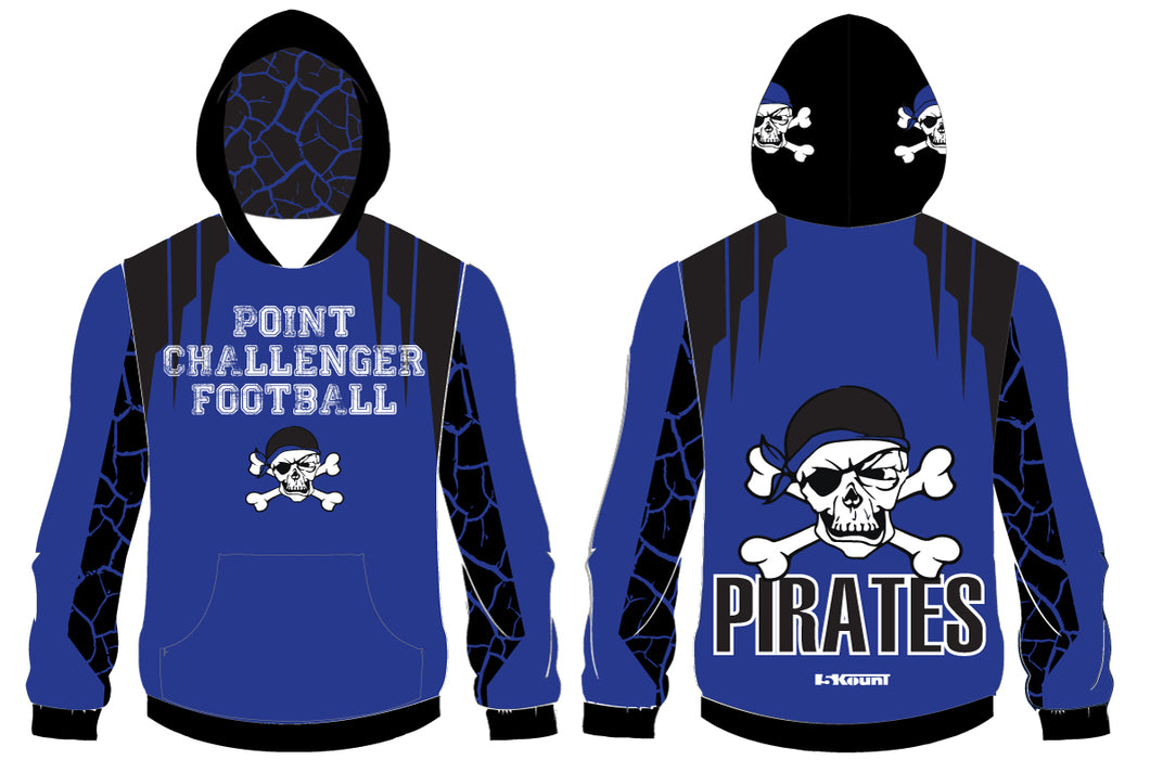 Challenger Football Sublimated Hoodie - 5KounT2018